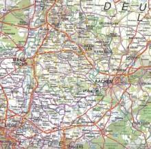 Vaalserberg Highpoint of Netherlands Map