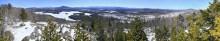 McRorie Pond,Long Lake,spring,treetop