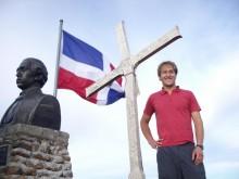 Me on the summit of Pico Duarte