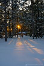 Meacham Lake campground,Meacham Lake,cabin,winter,2020,winter cabin,campground,Meacham Lake cabin,