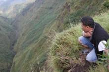 The steep vallies of Merbabu