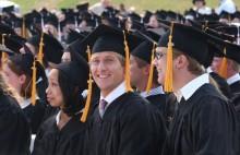 Johnathan Esper, college, graduation, Messiah College