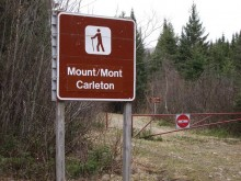 Mount Carleton Trailhead