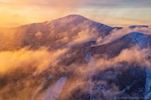 Mt Marcy,Mt. Marcy,High Peaks,winter 2020,2020,winter,snow,Adirondack Mountains,Adirondacks,sunrise,Wright Peak,Wright,Wright peak summit,summit,