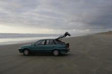 Ninety Mile Beach, driving, beach, Northland