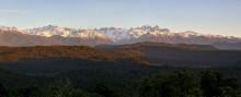 Mt. Aoraki/Cook and Tasman fr West Coast