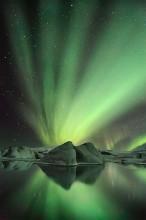 """Glacier Aurora"", by"