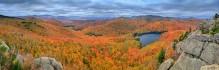Peaked Mountain Pond,Peaked Mt,pond,Adirondack,autumn,Gore Mt,Thirteenth Lake,panorama,fall,Peaked Mt Pond,Gore Mountain,Johnathan Esper