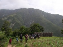 Jeantilhome, village, Pic de la Selle, highpoint, Haiti, mountains, highest, mountain