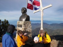 Dominican Republic, highpoint, highest, mountain, Pico Duarte, summit, cross,