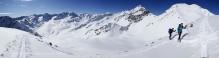Sellrain Austria backcountry skiing