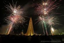 Reykjavik New Years 2014 Hallgr