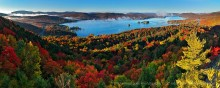 Fourth Lake,Inlet,Inlet NY,autumn,Rocky Mt,Fourth Lake Rocky Mt,sunrise,fog,Adirondack Park,lakes,Adirondack,Treetop,pan