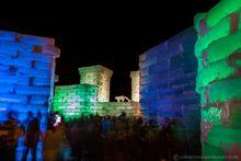 Saranac Lake winter carnaval ice palace January 2020