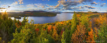 Schroon Lake,treetop,panorama,autumn,2015,southeast shoreline,shoreline,lake,Adirondack,lakes,Adirondack Park,