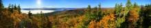 Schroon Lake, Severance Hill, Severance,Adirondack,lake,Park,treetop,panorama,autumn