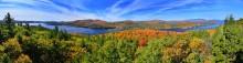 Schroon Lake,Adirondack Park,Adirondack,lake,treetop,Leland Hill,panorama,treetop,Schroon Lake Leland Hill Treetop, 220