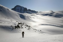 Ski Mountaineering, Whetterhorn Peak, San Juan Mountains, Colorado, backcountry skiing, Uncompaghre, winter