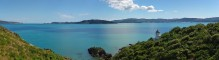 Somes Island,lighthouse,New Zealand,Wellington,harbour,panorama