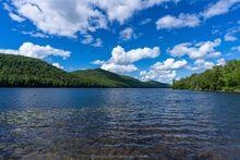 Thirteenth Lake sunny summer day