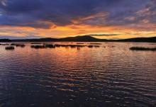 Tupper Lake and Mt. Arab HDR sunset