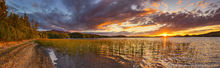 Middle Saranac Lake,Saranac Lake,summer sunset,summer,panorama,Ampersand,Ampersand Bay,Middle Saranac Lake,Saranac Lakes,