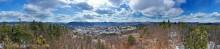 Warrensburg from Hackensack Mt Treetop