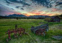 Jay,Wilmington,farm,old,barn,old barn,Adirondack Park,Whiteface Mt,field,fields,farm field, spring,2017,plow,wagon,farm wagon,