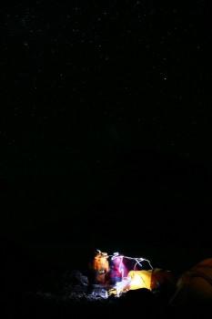 Starry Night 3am on Summit Day