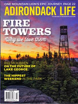 Adirondack-Life-Magazine-Oct-2016-Cover-Image-St-Regis-Firetower