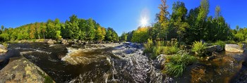 AuSable River near Whiteface Mt 360