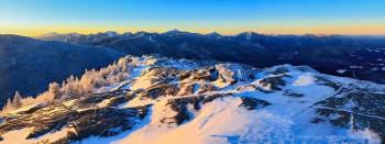Cascade Mt. Winter Sunrise
