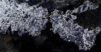 Ice Shale in Space (William Blake Pond)