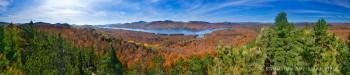 Indian Lake fr. Baldface Mt Treetop 310