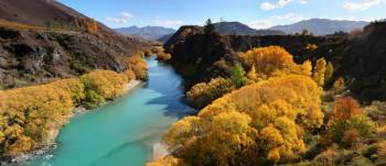 Kawarau River in Autumn