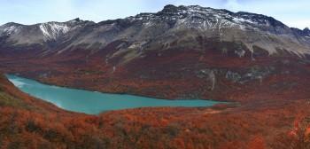 Lago del Desierto, Patagonian Mountains