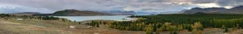 Lake Tekapo, New Zealand, panorama