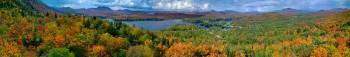 Long Lake from Mt Sabattis 270
