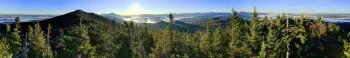 McKenzie Mt treetop 360 pano