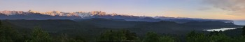 Southern Alps from Okarito Trig lookout