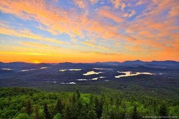 St Regis Wilderness sunrise from St Regis Mt