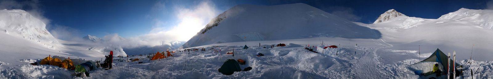 panorama,West Buttress,route,Denali,Alaska,mountaineering,360,degree,pano,altitude,high, photo