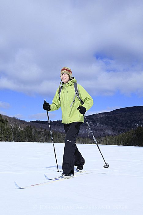 photo assignment,assignment,shoot,commissioned,North Creek,ski trails,Adirondack Life,Second Pond,Botheration,pond,loop,, photo