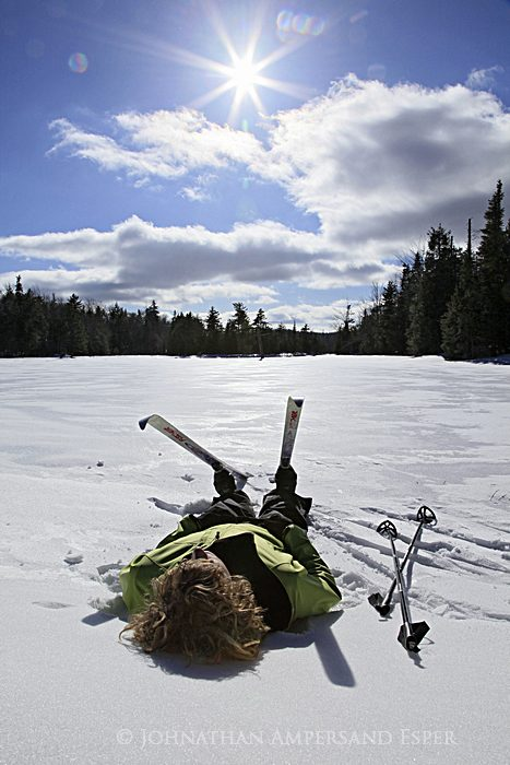 2 day photography assignment by Adirondack Life magazine to shoot some ski trails in the Adirondack Park, including the Raymond...