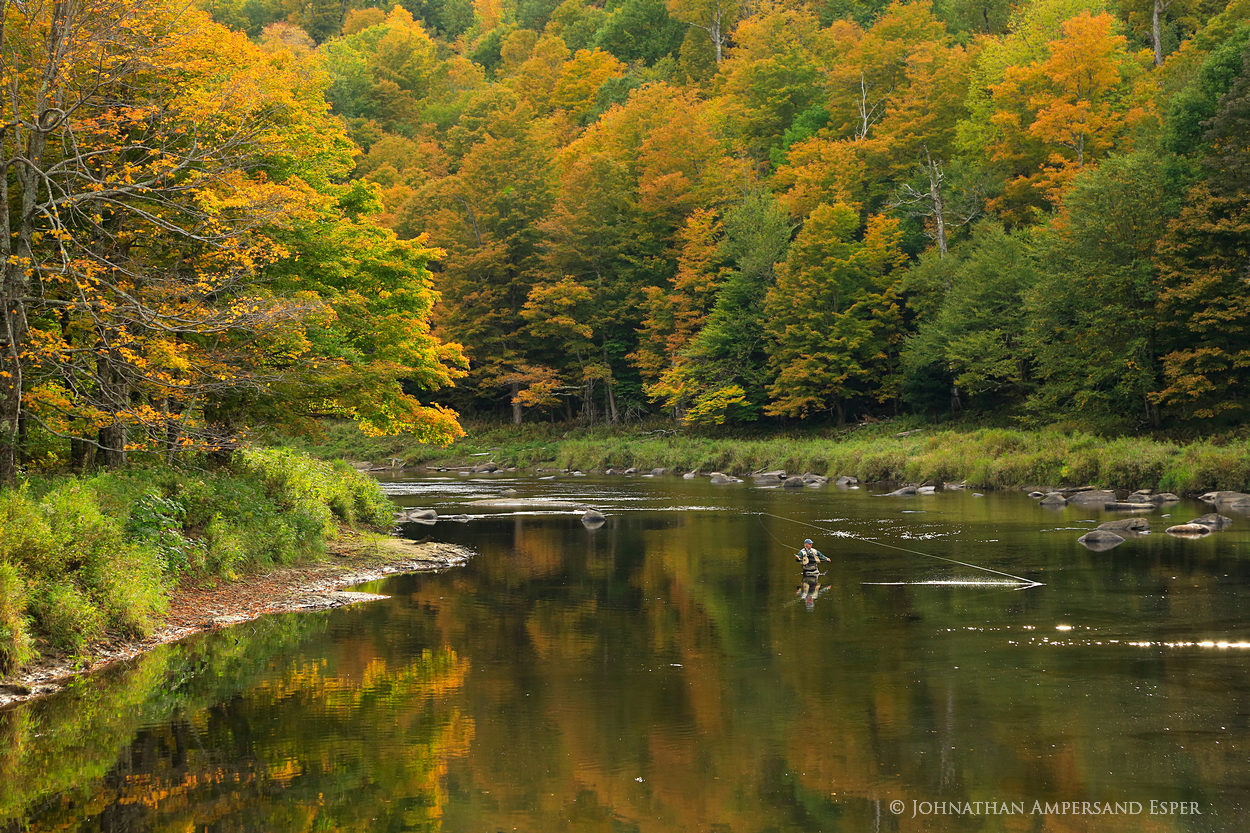 Ausable River,Au Sable River,fly-fishing,fly fisherman,fishing,fly fishing,Wilmington Notch,fall,2013, photo