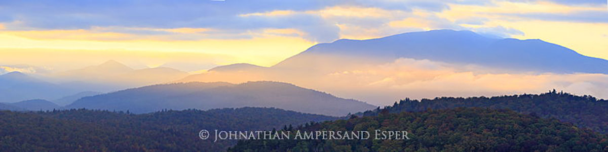Giant Mt,Giant Mt Range,Giant Range,Belfry Mt,Belfry Mountain,firetower,Belfry Mt firetower,Belfry Mountain firetower,panorama,telephoto,telephoto panorama,yellow blue layers,layers,Johnathan Esper,, photo