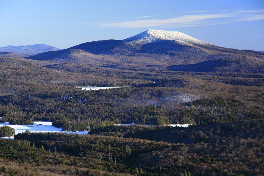 Blue Mountain, Long Lake, Winter, Owls Head, Adirondack Park, photo