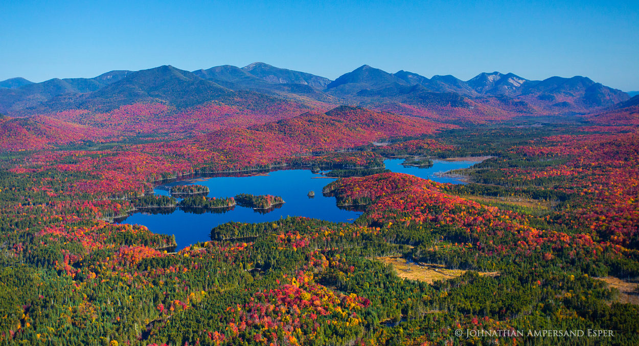 Boreas Pond,Boreas Ponds,Allen Mt,Skylight,Mt Marcy,aerial,fall,2014,fall aerial,Ausable Lakes,Upper Au Sable Lake,Au Sable club,High Peaks,Gothics,Saddleback,Sawteeth,Colvin,Blake,mountains,Adirondac, photo