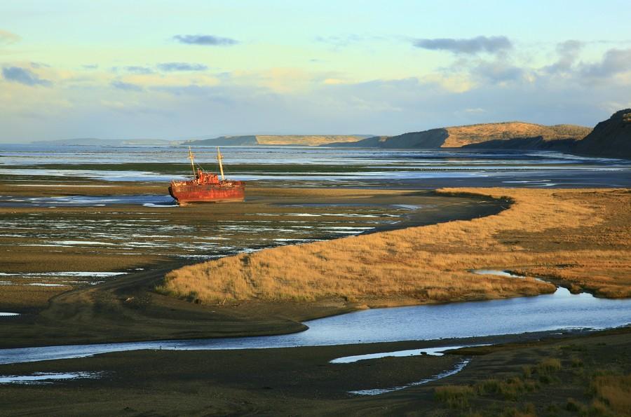 shipwreck, Cabo San Pablo, Tierra del Fuego, photo