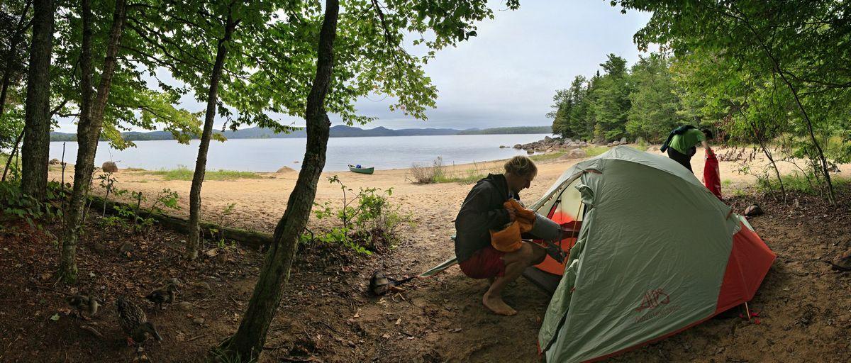 canoe,camping,trip,Adirondacks,Adirondack Park,New York State,NY,mallard,ducks,Stillwater Reservoir,, photo